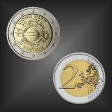 2 EURO 10 Jahre EURO Bargeld Zypern 2012