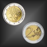 2 EURO Weg in die Unabhängigkeit Estland 2017