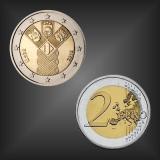 2 EURO 100 Jahre Unabhängigkeit Estland 2018