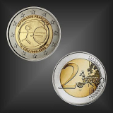 2 EURO 10 Jahre WWU Frankreich 2009