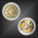 2 EURO 10 Jahre EURO Bargeld Griechenland 2012