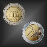 2 EURO Römische Verträge Italien 2007
