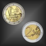 2 EURO Louis Braille Italien 2009