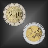 2 EURO Litauische Sprache Litauen 2015