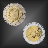 2 EURO Europaflagge Litauen 2015
