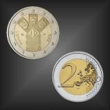 2 EURO Unabhängigkeit Litauen 2018