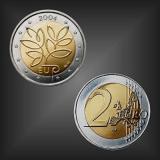 2 EURO EU-Erweiterung Finnland 2004