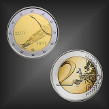 2 EURO Nationalbank Finnland 2011