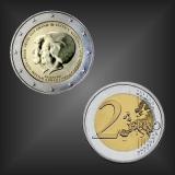 2 EURO Thronwechsel Niederlande 2013