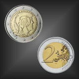 2 EURO 200 Jahre Königreich Niederlande 2013