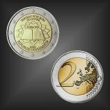 2 EURO Römische Verträge Österreich 2007