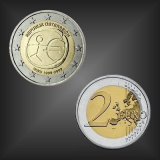 2 EURO 10 Jahre WWU Österreich 2009