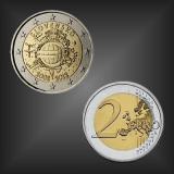 2 EURO 10 Jahre EURO Bargeld Slowakei 2012