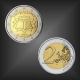 2 EURO Römische Verträge Slowenien 2007