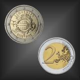 2 EURO 10 Jahre EURO Bargeld Slowenien 2012