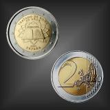 2 EURO Römische Verträge Spanien 2007