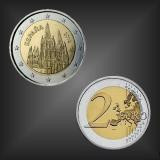 2 EURO Kathedrale von Burgos Spanien 2012