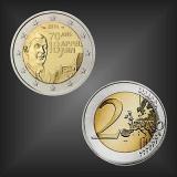 2 EURO Charles de Gaulle Frankreich 2010