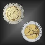 2 EURO 10 Jahre WWU Zypern 2009