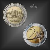 2 EURO Schloss Schwerin -J- BRD 2007
