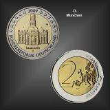 2 EURO Ludwigskirche Saarland -D- BRD 2009