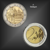 2 EURO Roland Bremen -F- BRD 2010