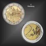 2 EURO Roland Bremen -J- BRD 2010