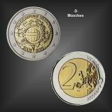 2 EURO 10 Jahre EURO Bargeld -D- BRD 2012