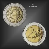 2 EURO 10 Jahre EURO Bargeld -G- BRD 2012