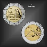 2 EURO Michaeliskirche -J- BRD 2014
