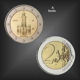 2 EURO Paulskirche Hessen -A- BRD 2015