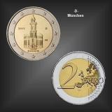 2 EURO Paulskirche Hessen -D- BRD 2015