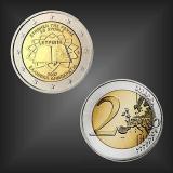 2 EURO Römische Verträge Griechenland 2007
