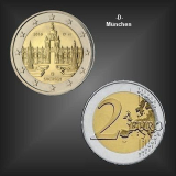 2 EURO Dresdner Zwinger -D- BRD 2016