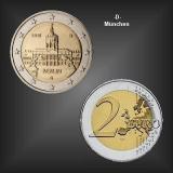 2 EURO Schloss Charlottenburg -D- BRD 2018