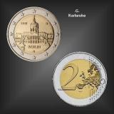 2 EURO Schloss Charlottenburg -G- BRD 2018