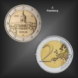 2 EURO Schloss Charlottenburg -J- BRD 2018