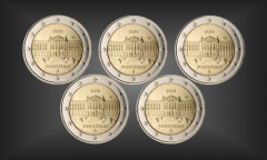 Satz 5 x 2 EURO Bundesrat Berlin BRD 2019