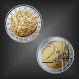 2 EURO EU-Verfassung Italien 2005