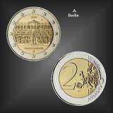 2 EURO Schloss Sanssouci -A- BRD 2020