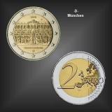 2 EURO Schloss Sanssouci -D- BRD 2020