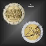 2 EURO Schloss Sanssouci -F- BRD 2020