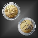 2 EURO Olympische Winterspiele Italien 2006