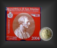 2 EURO Bartolomeo Borghesi San Marino 2004