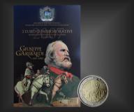 2 EURO Giuseppe Garibaldi San Marino 2007