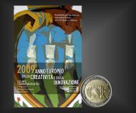 2 EURO Kreativität u. Innovation San Marino 2009