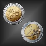 2 EURO Monogramm Luxemburg 2004