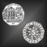 5 EURO Europahymne Österreich 2005