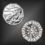5 EURO Herbert v. Karajan Österreich 2008