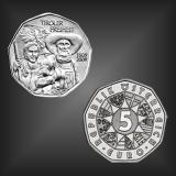 5 EURO Tiroler Freiheit Österreich 2009